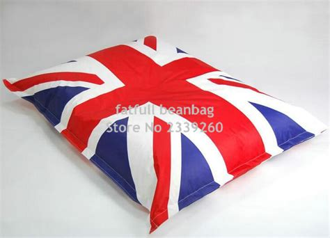 aliexpress english only cover only no filler union jack english flag bean bag