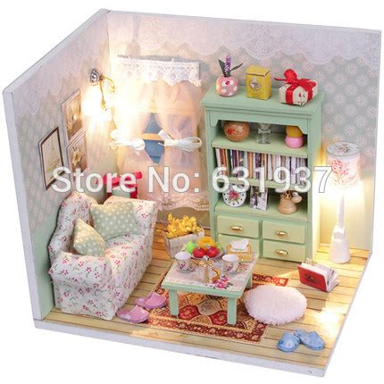cheap doll houses with furniture online get cheap diy dollhouse furniture aliexpress com alibaba group