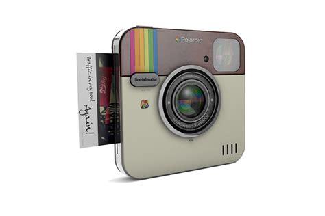 polaroid socialmatic instagram le concept d appareil photo socialmatic aura la marque