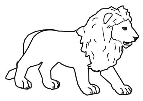 imagenes de leones animados para colorear www lectoescritura es lectoescritura dibujos para pintar