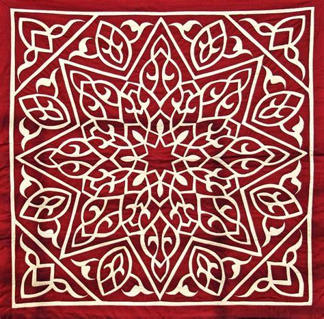 islamic pattern cushions cushion cover cotton handmade egypt art kheyameya