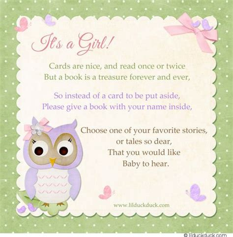 baby shower invitation book poem 29 best images about baby shower book instead of card on