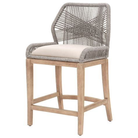 Orient Express Loom Counter Stool by Orient Express Furniture Wicker 6808cs Pla Lgry Loom Rope