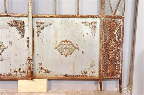 a set of 19th wrought iron greenhouse doors at 1stdibs