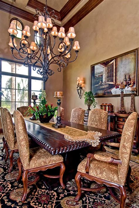 tuscany dining room richard doan construction old world mediterranean