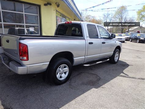 dodge ram 1500 4 door 2002 dodge ram 1500 slt crew cab 4 door 4 7l