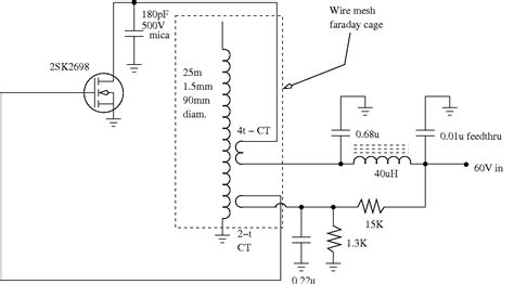 Tesla Coil Schematic Tesla Coil Circuit Power Supply Circuits Next Gr