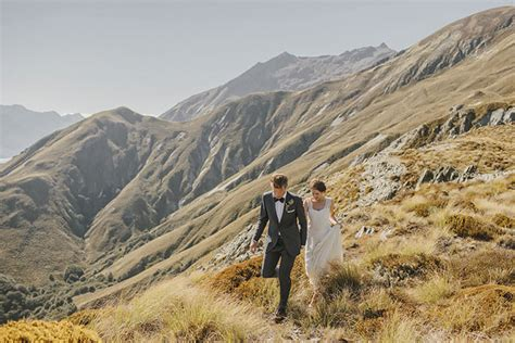 Wedding Shoes New Zealand by Organic New Zealand Mountain Wedding Sam Green