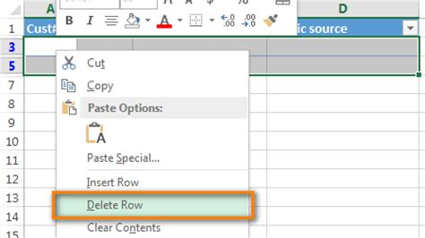 Delete Row From Table by 3 Ways To Remove Blank Rows In Excel Tip