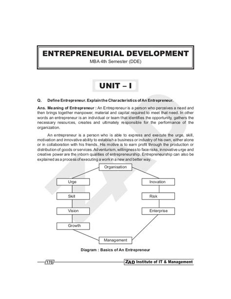 And Development Books For Mba Pdf by Entrepreneurial Development Book Pdf