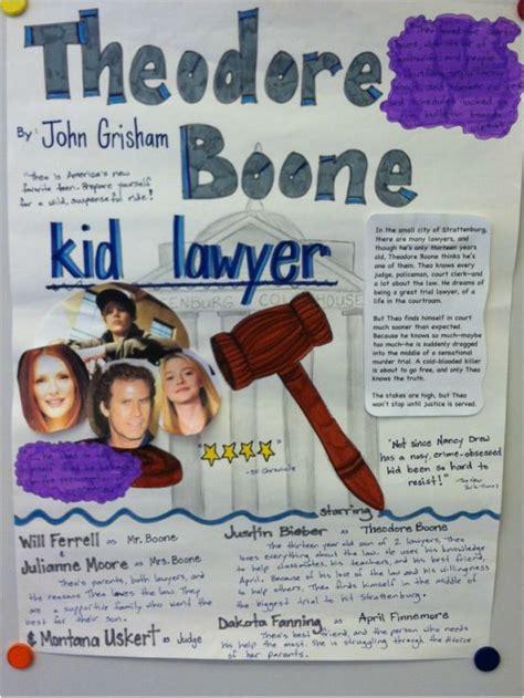 Poster Board Book Report Template