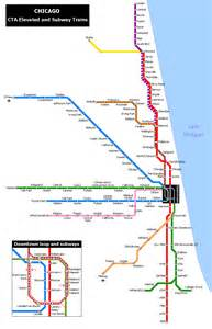 chicago map cta does your city subway or lighrail suburbs compared railway planning