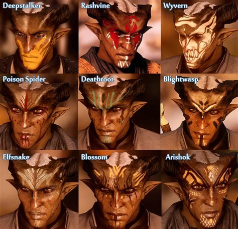 qunari tattoo dragon age inquisition 3544 best images about dragon age on pinterest serum