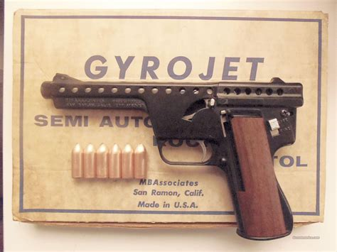 Mba Gyrojet Rocket Pistol by Mba 12mm Gyrojet Rocket Pistol Plus Ammunition Guns