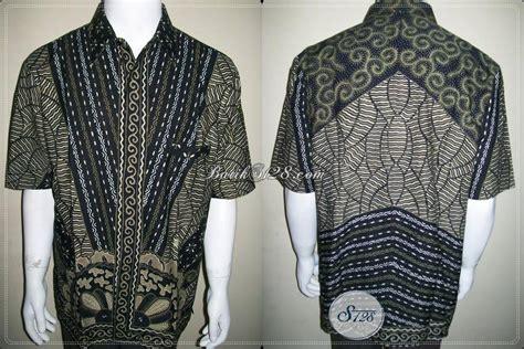 Kemeja Batik Pria Slimfit Modern Black Tribal pakaian hawaii lelaki hairstyle gallery