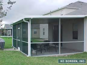 Screened Patios by Porches Amp Patios For Central Florida Kc Screen