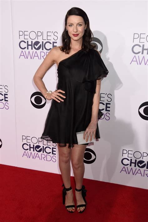 Choice Moments From Peoples Choice Awards by Caitriona Balfe 2015 Photos A Peoplea S