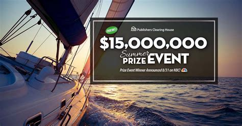 Pch Drawing 2017 - pch nbc 15 000 000 summer prize event superprize 8800 sweepstakes pit