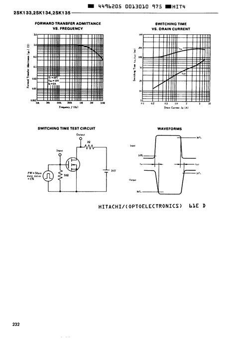 transistor k1317 datasheet k133 datasheet k133 pdf 2sk133 datasheet4u