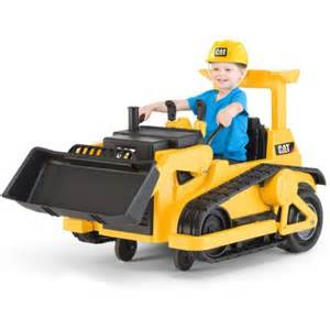 Wheels Bulldozer Truck Kid Trax Cat Bulldozer 12 Volt Battery Powered Ride On
