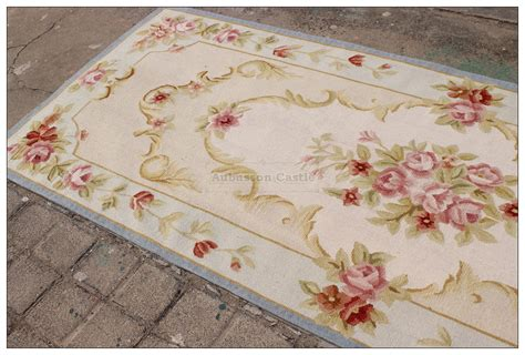 Shabby Chic Runner Rug 2 6x10 Runner Aubusson Rug Shabby Chic Light Blue Ivory Pink Stair Carpet Ebay