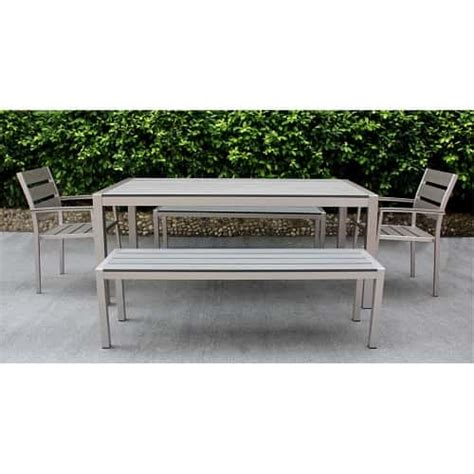 10 Gorgeous And Durable Faux Wood Patio Furniture Under 800 Faux Wood Patio Furniture