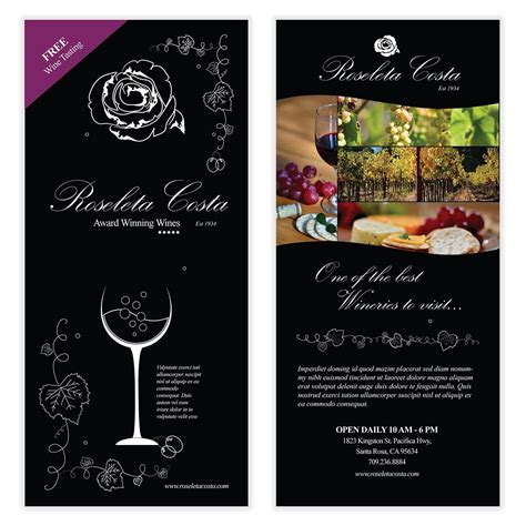 Wine Flyer Template 03 Flyer Poster Templates Pinterest Flyer Template And Wine Free Wine Flyer Template
