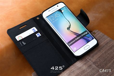 Canvas Diary Samsung S6 Edge mercury canvas diary เคส samsung galaxy s6 edge ร ว ว