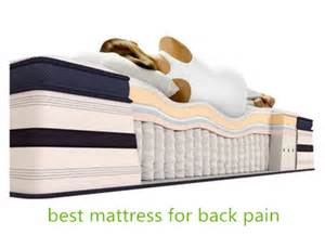 best mattress for a bad back best mattress for back by samueljhon