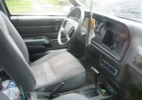 Tempo Interiors by Curbside Classic 1986 Ford Tempo A Deadly The