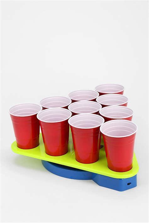 spinning pong rack