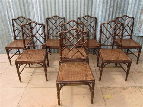 Bamboo Chairs Dining Faux Bamboo Dining Chairs Chairs Seating