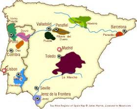 Spain Wine Map by Pics Photos Map Of The Andalucia Wine Regions In Spain