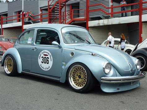 volkswagen beetle race car 73 super beetle this gets my vote full on german look