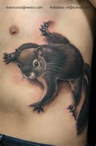 12 cute squirrel tattoo images and pictures gallery