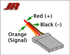 servo wiring information
