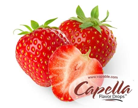 Capella Sweet Strawberry Flavor sweet strawberry capella flavour concentrate new vapable