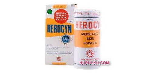 bedak herocyn bedak gatal yang bagus kegunaan cara