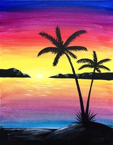 Paint Nite Paradise Island Paintnite