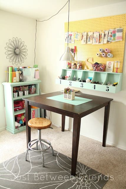 4 Your Home Craft Area For Small Spaces by Craftaholics Anonymous 174 Small Craft Room Storage Ideas
