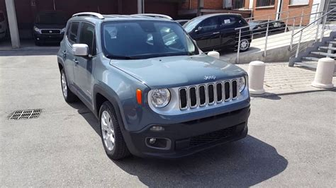 jeep renegade grey autofossano jeep renegade limited anvil grey