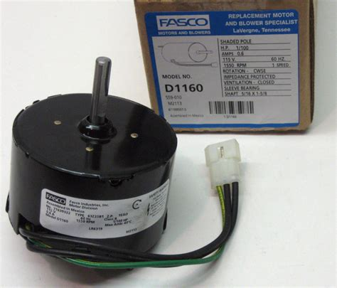 fasco bathroom exhaust fan model 647 d1160 fasco bathroom fan vent motor for 7163 2593 655 661