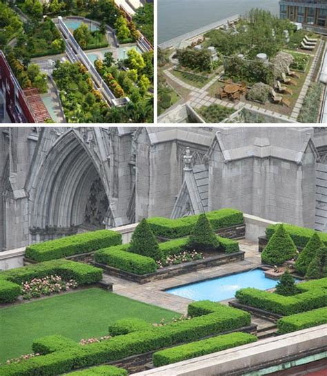 rooftop deck designs 8 great urban green roof gardens