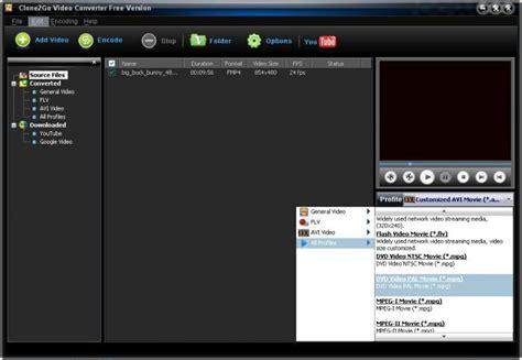 download youtube mpeg clone2go video converter descargar