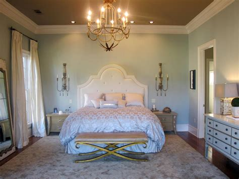 romantic bedrooms romantic bedroom lighting hgtv