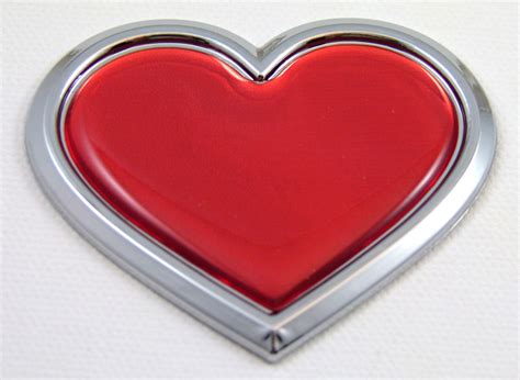 red chrome abs chrome emblems chrome auto emblems