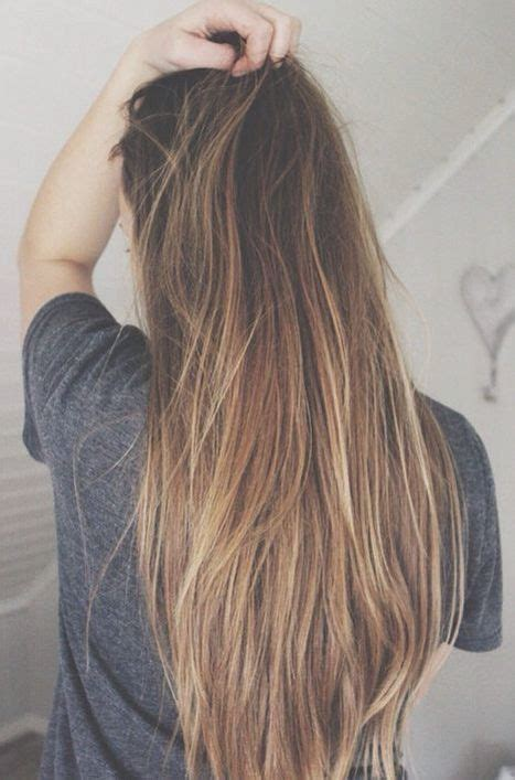 dyed hairstyles for brown hair ombre for light brown hair hair styles pinterest