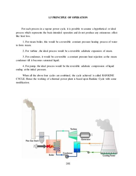 working diagram thermal power station ppt thermal power plant diagram ppt wiring diagram with description