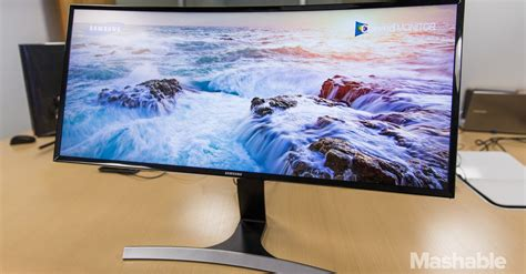 samsung curved monitor samsung s curved monitor total immersion while you work