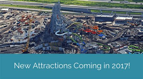 theme park news orlando new attractions coming in 2017 to orlando theme parks